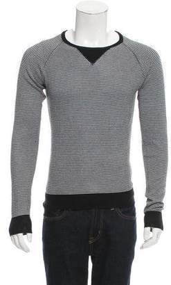 Christian Dior 2006 Striped Crew Neck Sweater