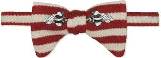 Gucci Children's Canvas Menagerie bow tie