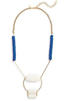 David Aubrey Rylee Geometric Pendant Necklace