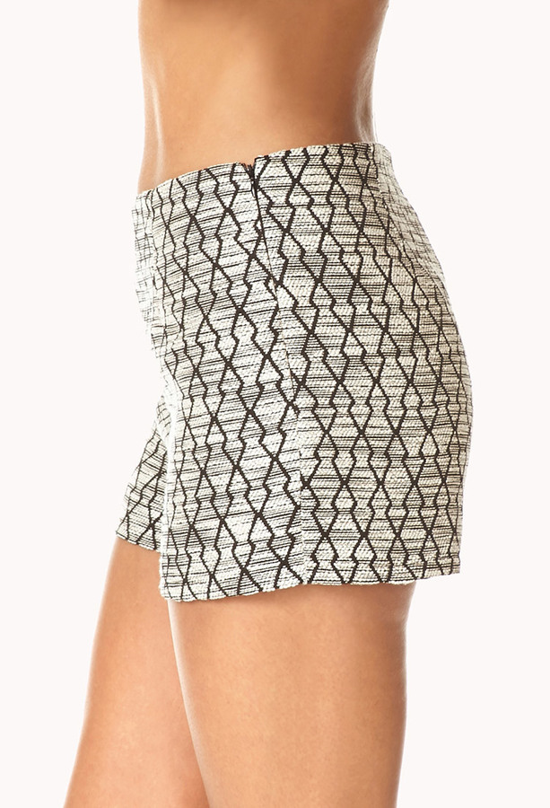 Forever 21 Standout Geo Shorts