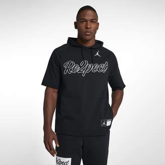 Jordan Re2pect Men's Short Sleeve Hooded Top