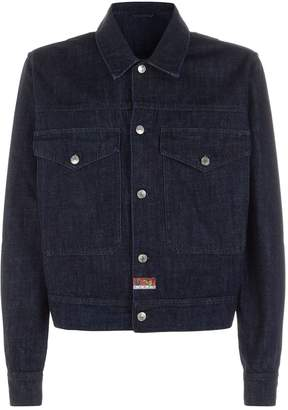 Kenzo Dragon Applique Denim Jacket