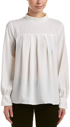ENGLISH FACTORY Pleated Top