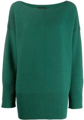 Roberto Collina ribbed knitted jumper