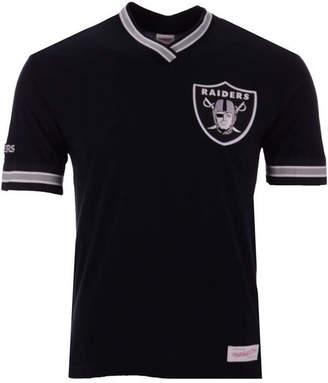 Mitchell & Ness Men's Oakland Raiders Overtime Win Vintage T-Shirt
