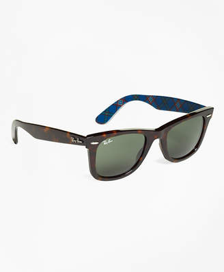 Brooks Brothers Ray-Ban Wayfarer Sunglasses with Tartan