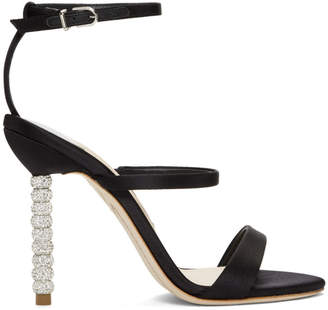 Sophia Webster Black Rosalind Sandals