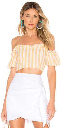 superdown Karen Off Shoulder Top