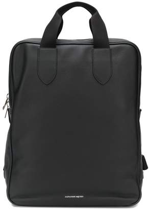 Alexander McQueen shopper backpack