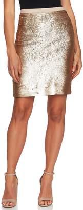 CeCe Sequin Miniskirt