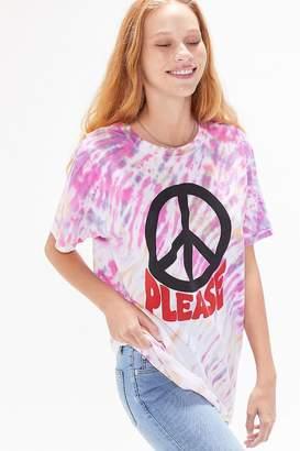 BDG Peace Please Tie-Dye Tee