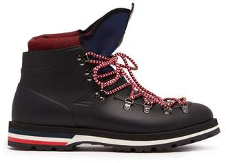 Moncler Henoc Tri Colour Boots - Mens - Black Multi