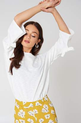 Glamorous Tie Sleeve Sweater