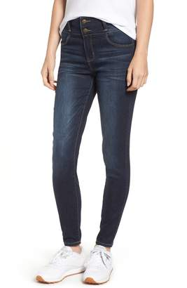 Tinsel Double Stacked Waistband High Waist Skinny Jeans