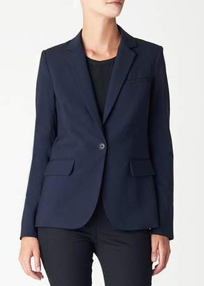 Veronica Beard navy classic jacket (8)