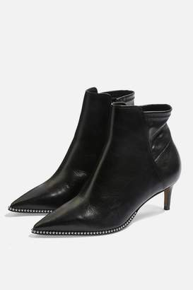 Topshop MIDNIGHT Mid Ankle Boots
