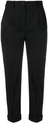 Dolce & Gabbana side stripe cropped trousers