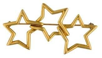 Tiffany & Co. 18K Star Brooch yellow 18K Star Brooch