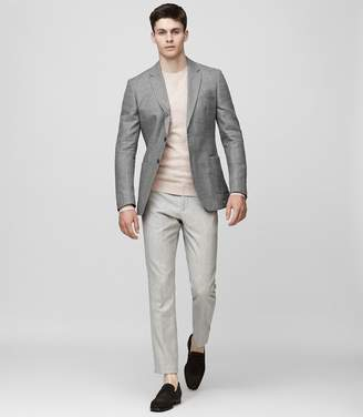 Reiss Campbell Wool And Linen Blazer