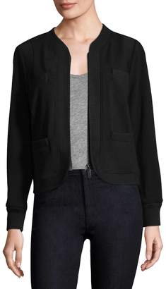 Tracy Reese Women's Ribbed Trim Cardigan