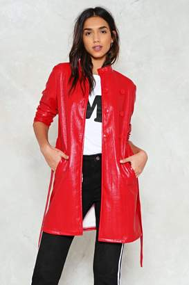 Nasty Gal Rain On Your Parade Trench Coat
