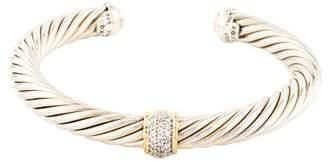David Yurman Diamond Cable Classics Bracelet