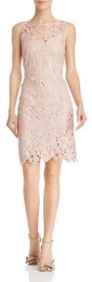 Sam Edelman Sleeveless Guipire Lace Sheath Dress