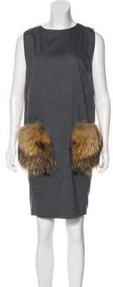 Brunello Cucinelli Sleeveless Knee-Length Dress w/ Tags