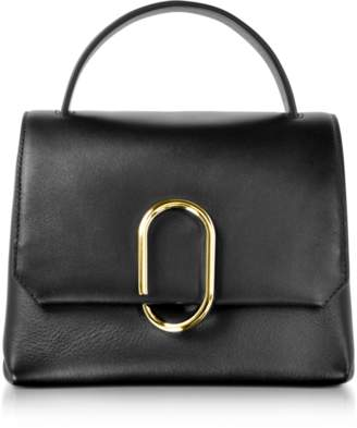 3.1 Phillip Lim Alix Black Leather Mini Top Handle Satchel Bag