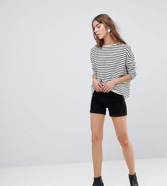 Vero Moda Tall Roll Hem Shorts