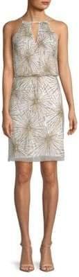 Aidan Mattox Sleeveless Sequin Dress