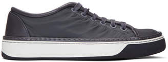 Lanvin Black Nylon Sneakers