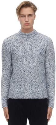 Giorgio Armani Moss Stitch Cashmere Blend Sweater