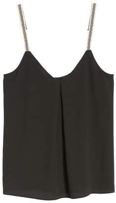 1 STATE 1.STATE Embroidered Strap Camisole