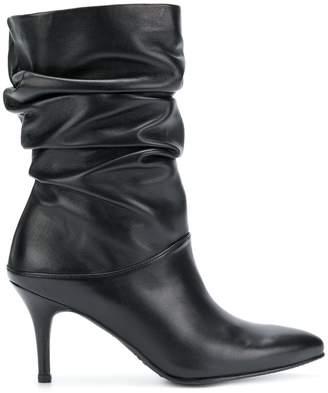 Stuart Weitzman 'crushchippy' nappa boots