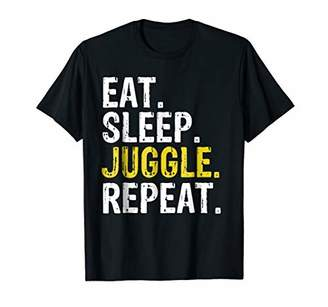 Eat Sleep Juggle Repeat Juggling Juggler T-Shirt