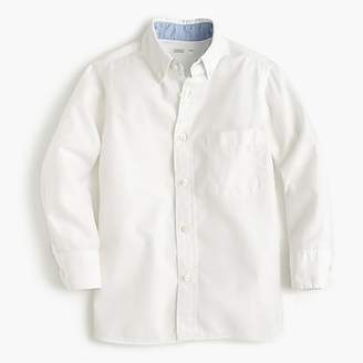 J.Crew Kids' Secret Wash shirt in cotton poplin