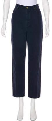St. John High-Rise Straight-Leg Jeans