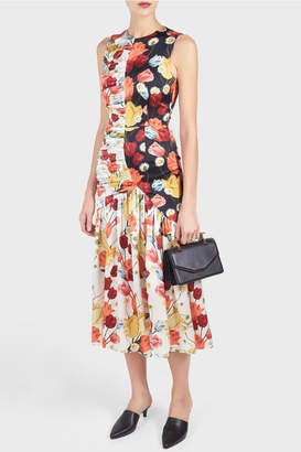 Mother of Pearl Pauletta Printed Dress