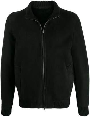 Salvatore Santoro shearling bomber jacket