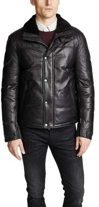 Mackage Willard Down Leather Jacket
