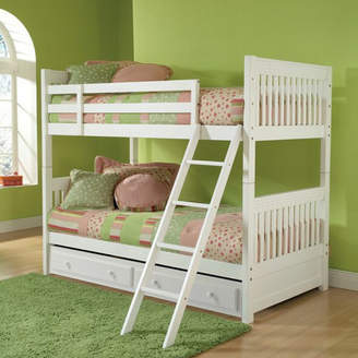 Viv + Rae Portia Twin over Twin Bunk Bed with Trundle