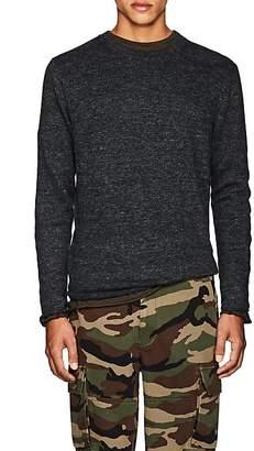 Vince Men's Linen Crewneck Sweater