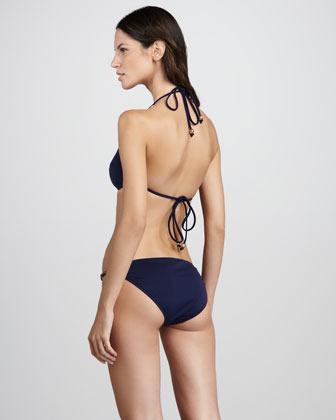 Milly Solid Bikini Top