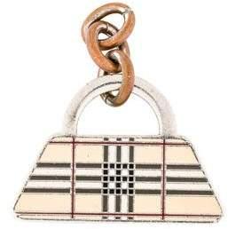 Burberry Nova Check Hangbag Keychain