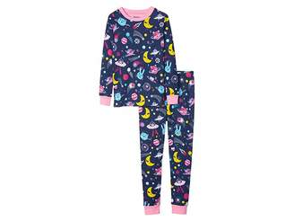 Hatley Animal Cosmos Glow Organic Cotton Pajama Set (Toddler/Little Kids/Big Kids)
