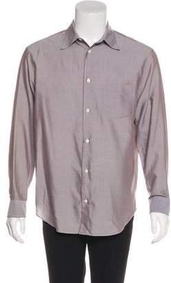 Armani Collezioni Striped Woven Shirt