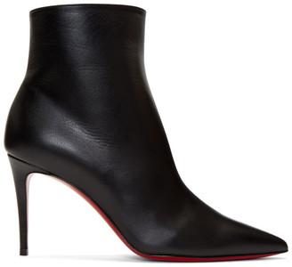 Christian Louboutin Black So Kate 85 Boots