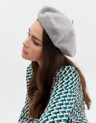 Asos DESIGN wool beret