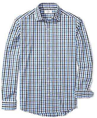 Buttoned Down Men's Fitted Supima Cotton Dress Casual Shirt (3 Collars Available)